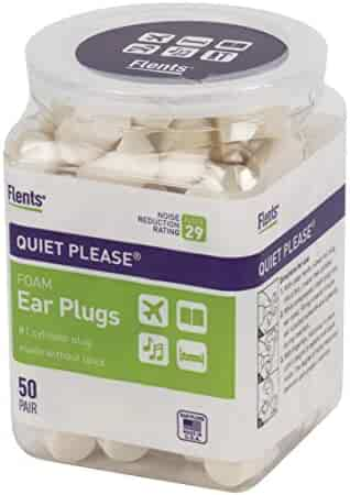 Flents Quiet Please Ear Plugs (50 Pair) NRR 29