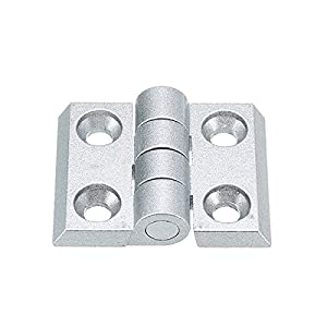 3030 Aluminum Profile Accessory Zinc Alloy Hinge for 3030 Aluminum Profile Extrusion Frame from OlogyMart
