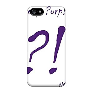 Best Hard Phone Case For Iphone 5/5s (SND3782wvtE) Provide Private Custom Attractive Deep Purple Band Image
