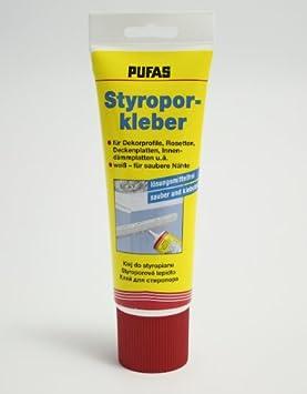 Pufas poliespán tubo de pegamento para 400 G espuma rígida pegamento: Amazon.es: Bricolaje y herramientas