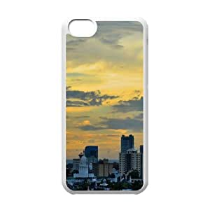 Colombo City IPhone 5C Cases, Case for Iphone 5c for Girls Antislip Okaycosama - White