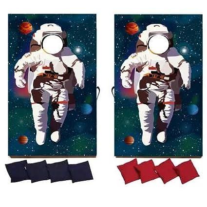 Amazon.com: VictoryStore - Juego de cornhole de Astronaut ...