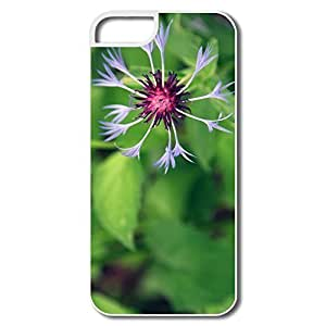 IPhone 5S Cases, Mountain Flower White Cases For IPhone 5S