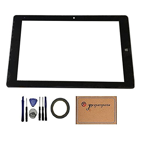 Pcspareparts New Replacment Digitizer Touch Screen Glass Panel for CHUWI Hi10 Pro CW1529 Tablet PC by pcspareparts