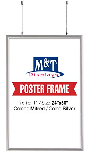 Double Sided Snap Frame, 24'' X 36'' Poster Size, 1