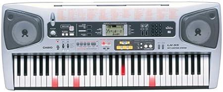 Casio LK-55 61 teclado iluminado con llave