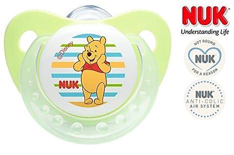 NUK Winnie the Pooh nº 10.729.915 - 1 x Chupete anatómica ...