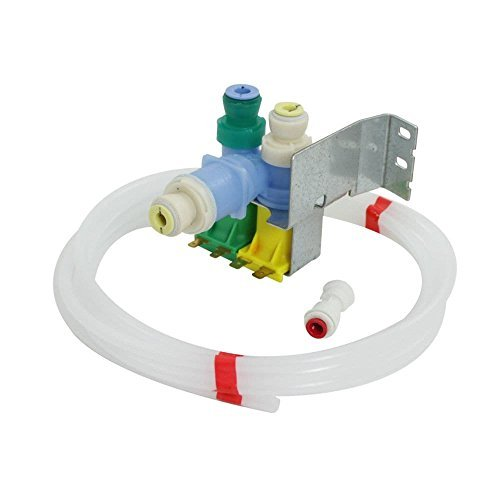 Whirlpool W10822681 Refrigerator Water Inlet Valve Kit Genuine Original Equipment Manufacturer (OEM) Part ()