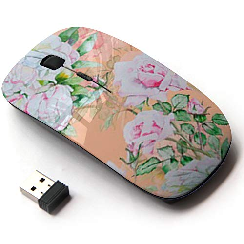 Ergonomic Optical 2.4G Wireless Mouse - Jungle Forest ()