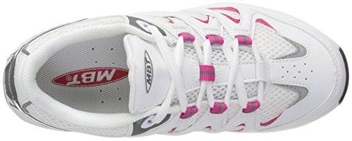 Mbt Womens Sport 2s Scarpa Da Passeggio Bianco / Rosa