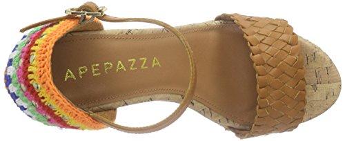 Apepazza Felicia Vacchetta - Sandalias Mujer Marrón - marrón (Cuoio)