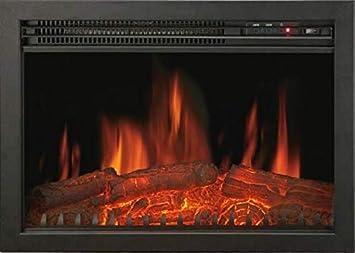 Chemin Arte 118/Oxford Inserto elettrico caminetto Nero 2000 W 61 x 18 x 44 cm