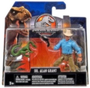 Dr. Alan Grant & Compie Jurassic World Legacy Collection Posable Figure 3.75