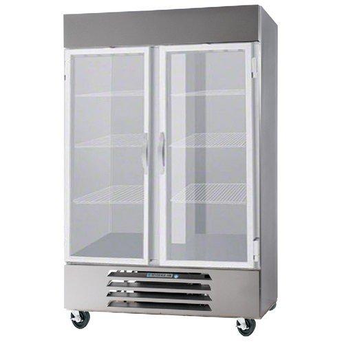 Beverage Air RB49-1G Bottom Mount Glass Door Refrigerator