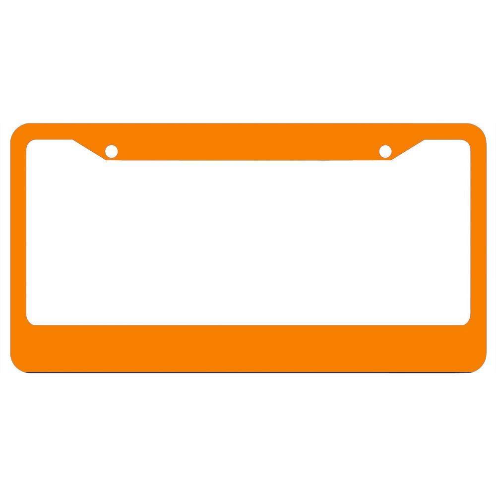 Auto Frames License Plate Frame,Funny Metal License Plate Frame with Screws,Car License Plate Cover