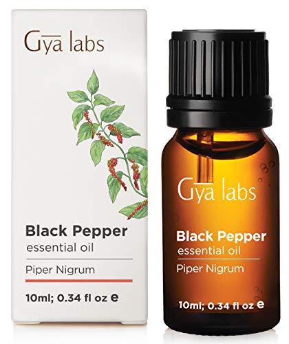 Black Pepper Seed (Peppercorn) Essential Oil - 100% Pure Therapeutic Grade - 10ml (0.34 oz) (Oil Of Black Pepper)