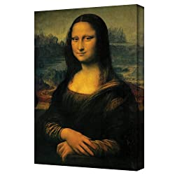 Art Wall Mona Lisa Gallery Wrapped Canvas Art, 24 By 32-inch