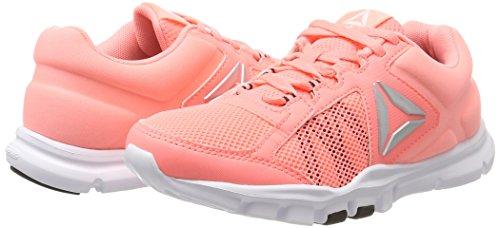 Orange Mt Running 9 De Femme Melon black Chaussures sour Yourflex 0 silver Reebok Rose wht Trainette 0wgqITgz