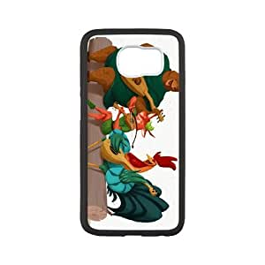 Samsung Galaxy S6 Cell Phone Case Covers White Robin Hood Character Alan-a-Dale MUS9146400