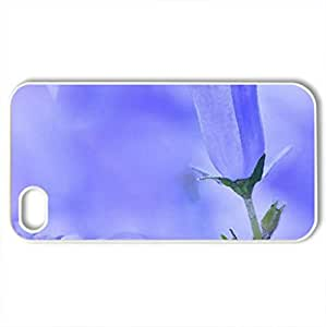 Iris - Case Cover for iPhone 4 and 4s (Flowers Series, Watercolor style, White)
