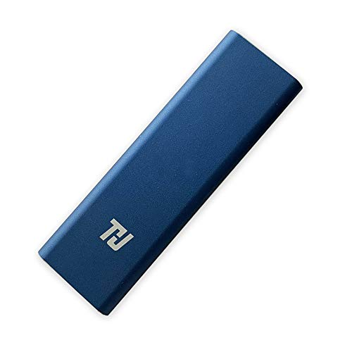THU 128GB External SSD Portable Solid State Drive USB 3.1 Gen 1 Typ-c Mini Size and Superfast Read/Write Speeds for Latop Desktop Tablet, Blue