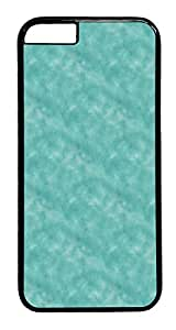 IMARTCASE iPhone 6 Case, Aqua Green Seamless Vector Pattern With Brushed iPhone 6 Plus Case TPU White