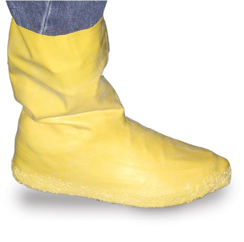 Groom Industries Hazmat/Flood Protective Boots (XX-Large) Yellow(Pack of 2) ()