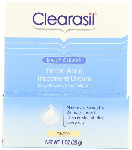 Crème de Soin Clearasil Daily Effacer teintées acné, 1 once (Pack de 3)