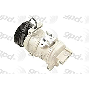 Global Parts Distributors 6512312 New Compressor