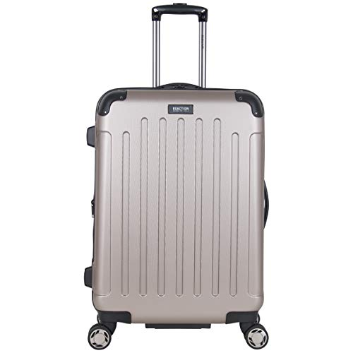 Kenneth Cole Reaction Renegade 24-Inch Lightweight Hardside 8-Wheel Spinner Expandable Checked Suitcase, ()
