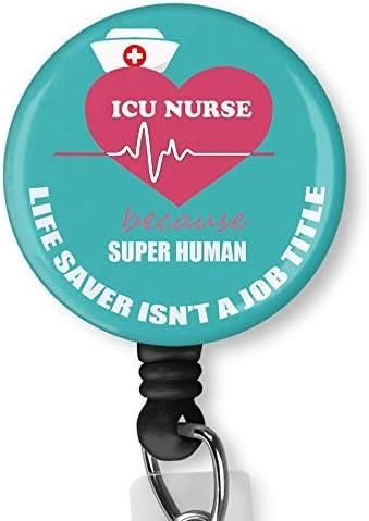 Medical badge nurses life badge reel gifts animal badge reel moose gift deer hunter teacher ID badge badge ID reels nurses gift