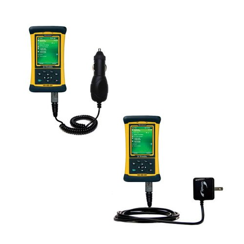 Essential Gomadic AC /DC Charge Accessory Bundle Kit for the Trimble Nomad 800 Series includes Gomadic Home and Car Chargers at a Money Saving Price. Based on TipExchange Technology