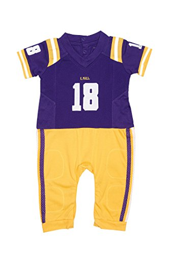 Baby Lsu Football Costumes - FAST ASLEEP LSU Tigers Home Baby