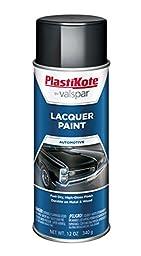 PlastiKote T-34 Gloss Black Lacquer Paint - 12 Oz.