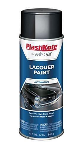 (PlastiKote T-34 Gloss Black Lacquer Paint - 12 Oz.)