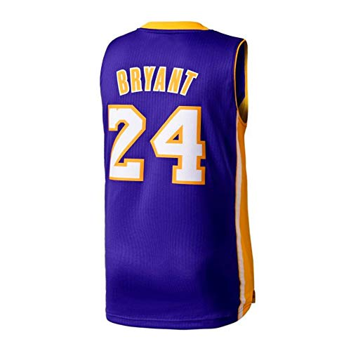 2fa4a03d856 Gumfor Mens Kobe Jersey 24 Basketball Los Angeles Bryant Purple (Purple