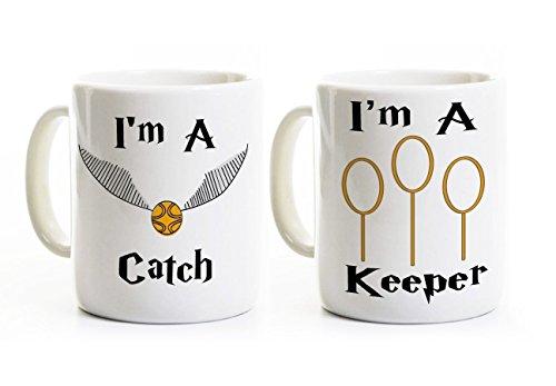 I'm a Catch - I'm a Keeper Mugs - Couples (Catch Mug)