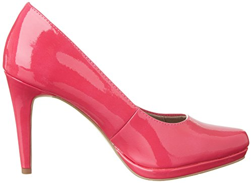 Tamaris 22448 - zapatos de tacón cerrados de material sintético mujer Rosa (FUXIA 513)