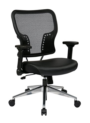 space-seating-airgrid-back-and-padded-eco-leather-seat-with-4-way-adjustable-flip-arms-built-in-lumb