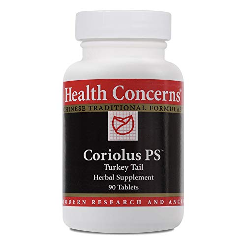 Health Concerns – Coriolus PS – Turkey Tail Herbal Supplement – 90 Tablets Review