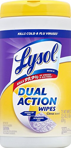Lysol Disinfecting Wipes - 75 - Wipes Lysol Disinfecting