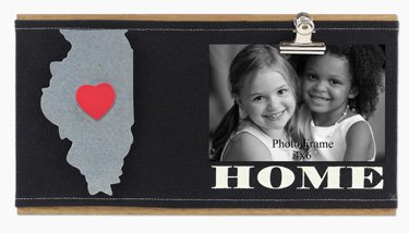 Heart of America Wood Illinois Picture Clip