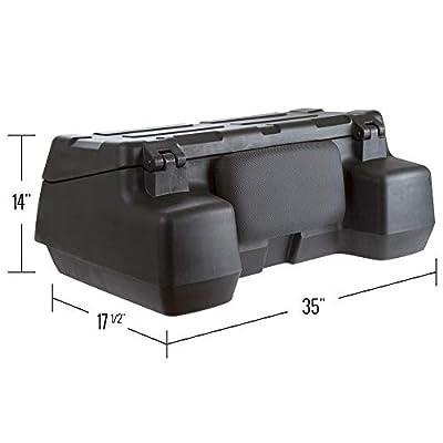 Black Widow Locking ATV Cargo Box: Automotive
