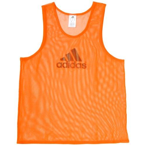 adidas Adult Soccer Training Bib (Large) Orange