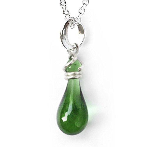 Tiny Pendant Necklace, Handmad