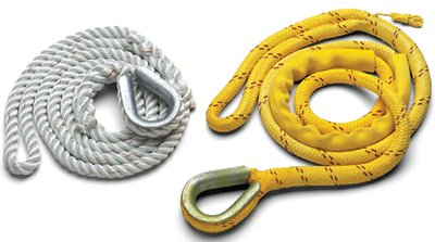New England Ropes 629K02000012 3-STRAND MOOR PENDANT 5/8X12