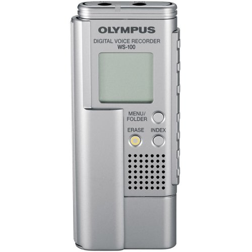 (Olympus WS-100 64 MB Voice Recorder with USB Interface )
