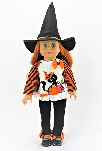 Halloween 18 Doll Inch Costume Patterns (Halloween Black Cat Halloween Costume | Fits 18