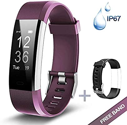 PHIPUDS Bluetooth Smart Watch, Health & Fitness Tracker Smartwatch ...