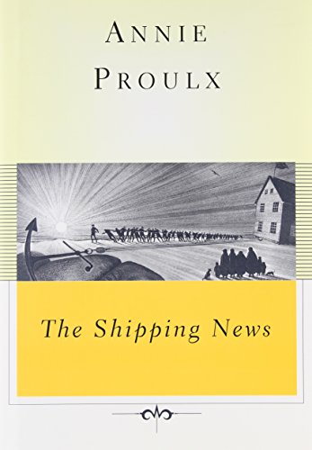 the shipping news by annie proulx June 23, 1994 at home with: e annie proulx at midlife, a novelist is born by sara rimer  ershire, vt -- don't get annie proulx wrong she is pleased, happy, thrilled beyond words about winning the pulitzer prize this year for her second novel, the shipping news.